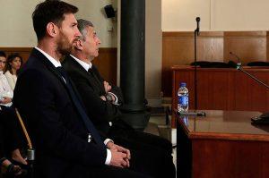 Messi con problemas legales afronta 21 meses de prisión y una millonaria multa