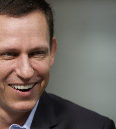 Peter Andreas Thiel Arriesgado Inversionista Fundador de PayPal 1