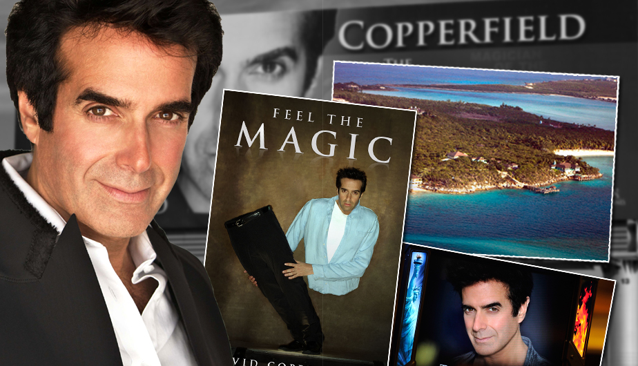 David Copperfield, el mago más adinerado del planeta