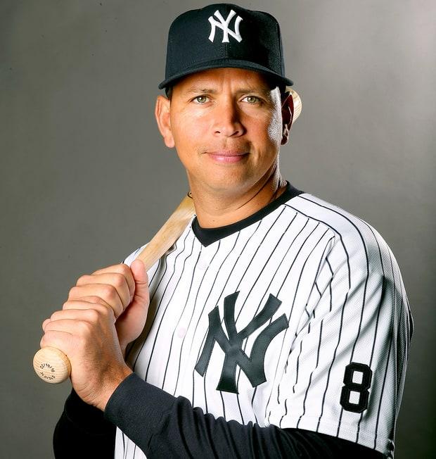 Alex Rodríguez: Jugador mejor pagado en la historia del beisbol.