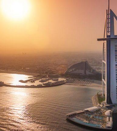 El emblemático y majestuoso Hotel Burj Al Arab