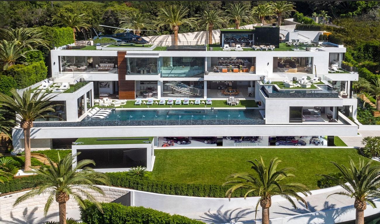 La casa más rica de los estados unidos - vista exterior