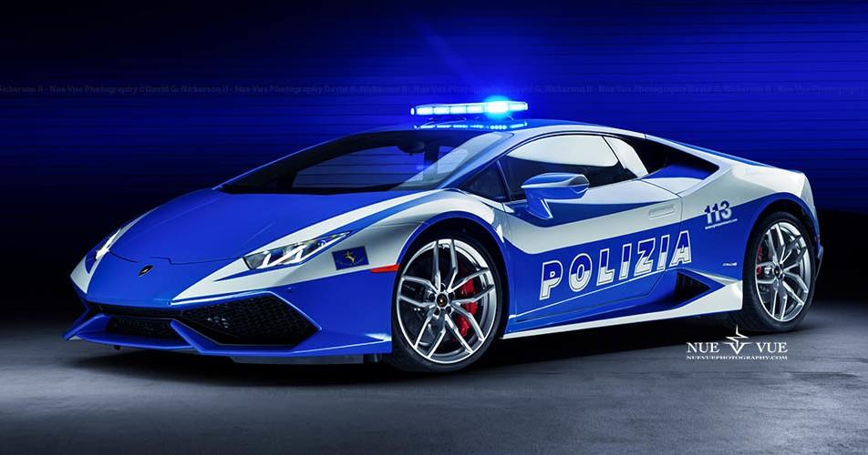 Los carros policia más caros del mundo - Lamborghini Huracan
