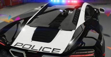 Los carros policia más caros del mundo - McLaren MP14-12C