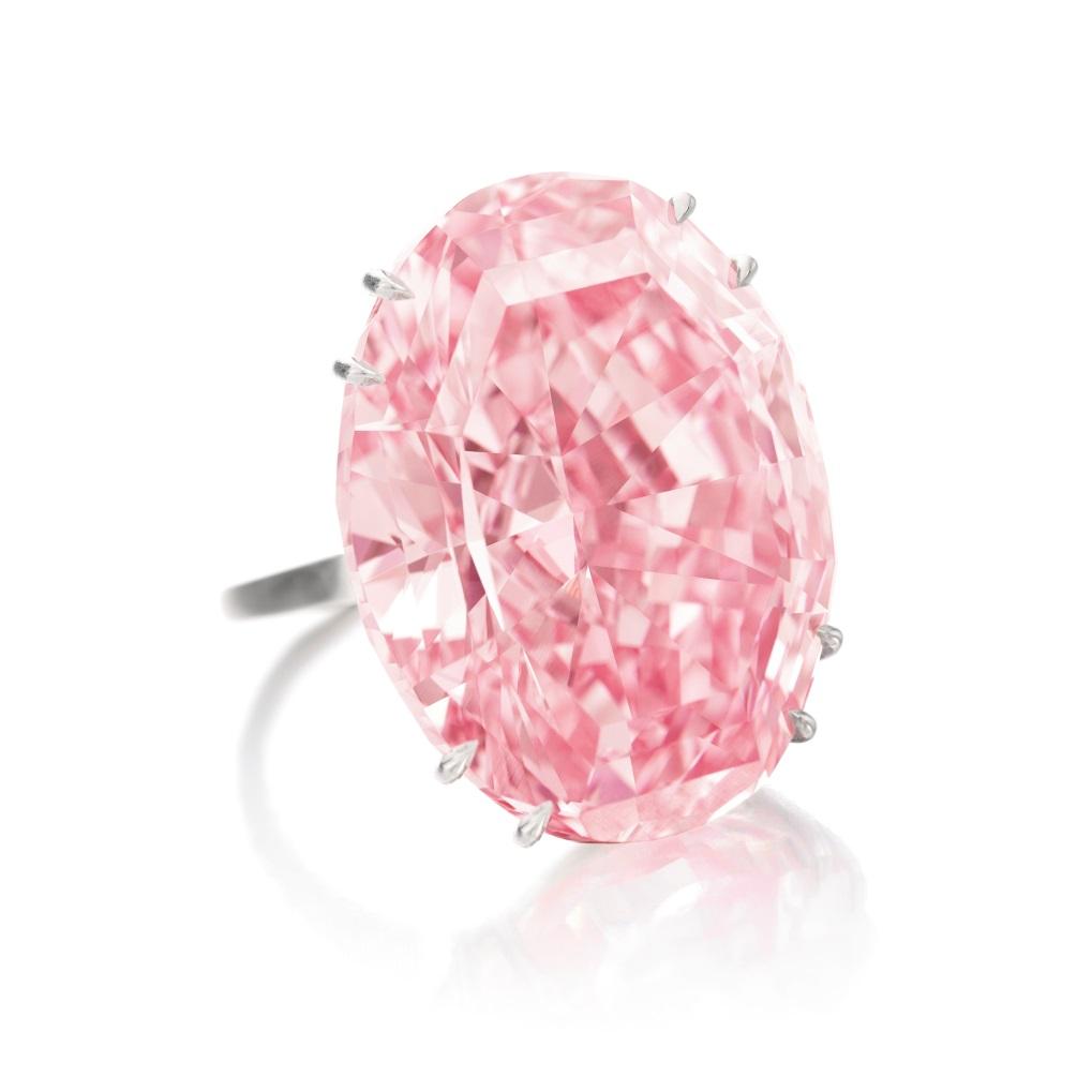 Las Joyas más caras del mundo - Anillo de diamante Estrella rosada