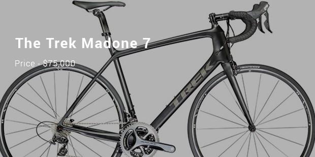 Las bicletas más caras del mundo - Trek Madone 7 Diamond