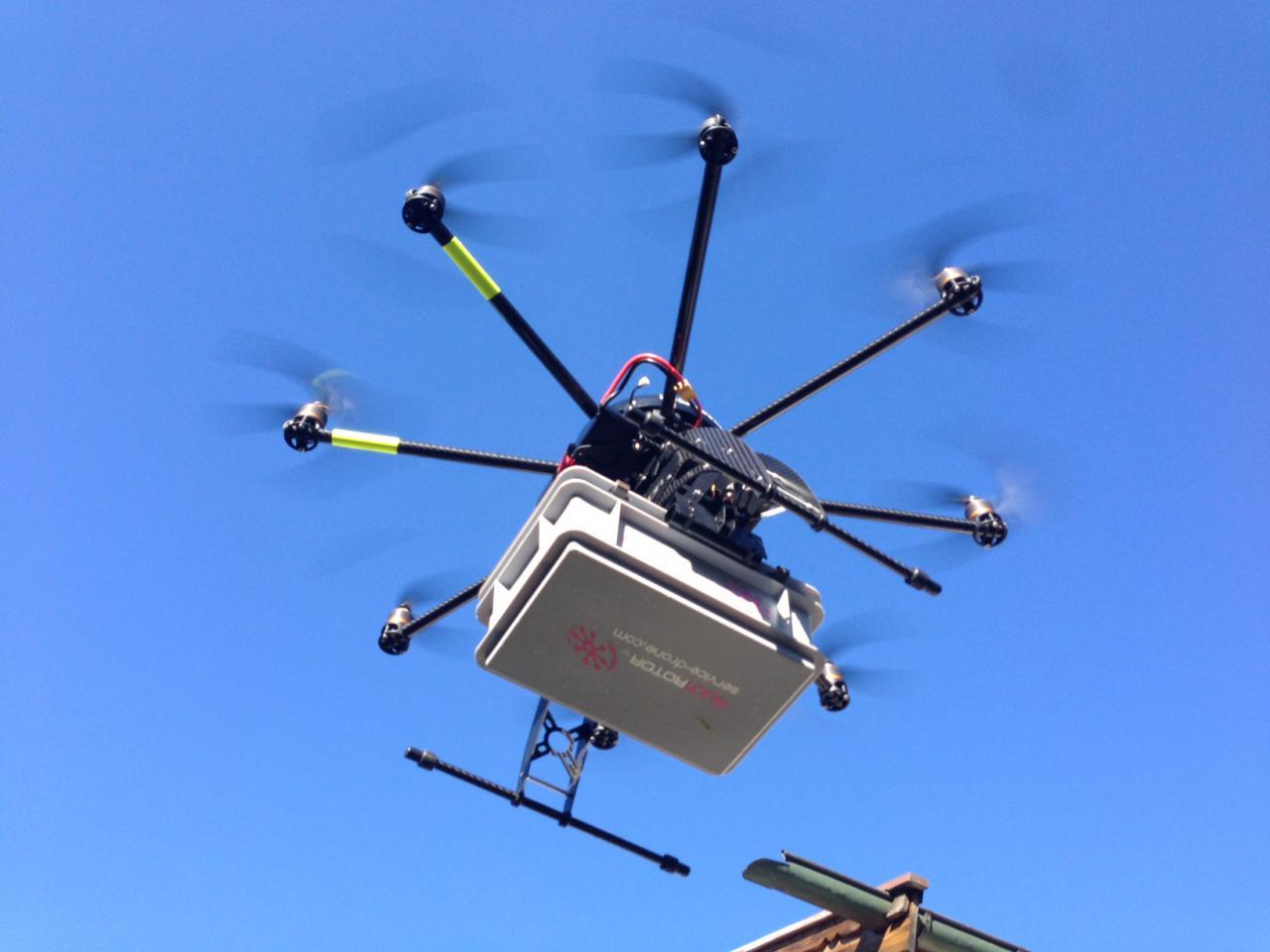 Los drones más costosos del mundo - MULTIROTOR G4 Eagle V2 Cargo