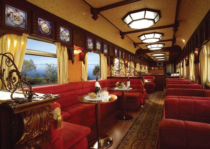 Los trenes más lujosos del mundo - El Golden Eagle Trans-Siberian Express