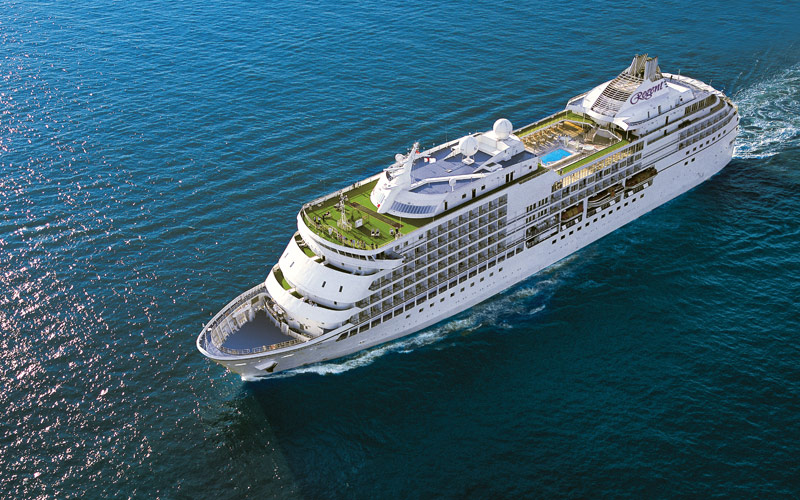 3 de los cruceros más lujosos - Regent Seven Seas
