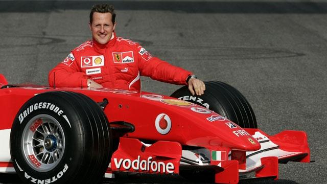 Los 5 atletas más ricos de todos los tiempos - Michael Schumacher