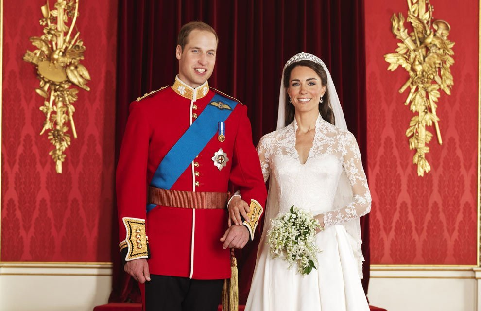 Las 5 bodas más caras del mundo - Príncipe William y Kate Middleton