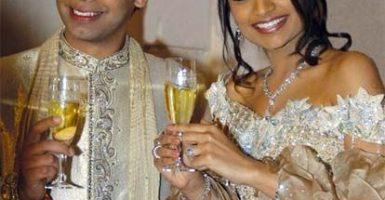 Las 5 bodas más caras del mundo - Vanisha Mittal y Amit Bhatia