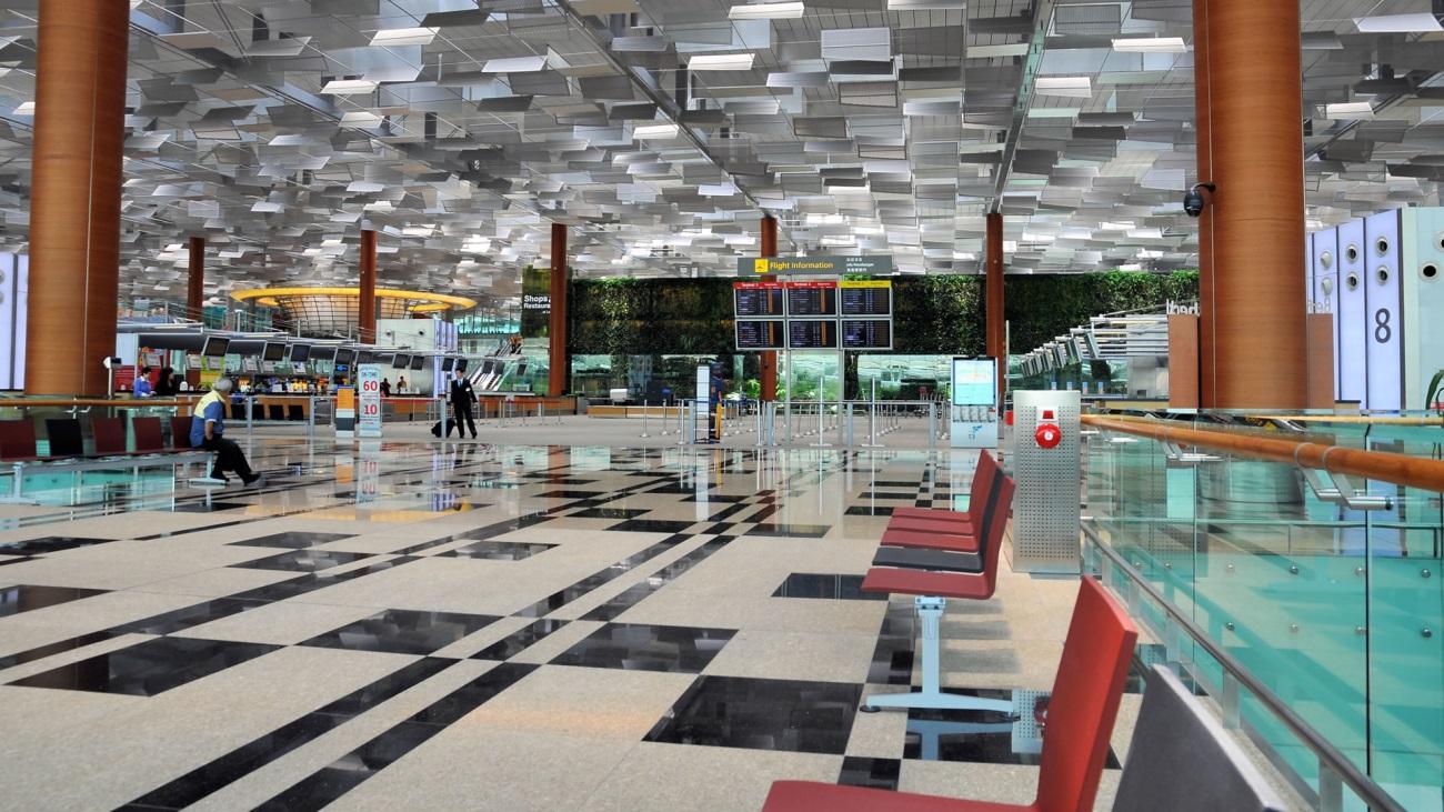 Los aeropuertos más lujosos del mundo - Aeropuerto Changi de Singapur