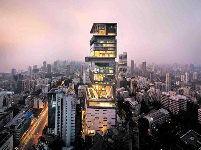 Las 5 casas más caras del mundo - Antilia