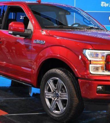 Conoce la nueva belleza de la Ford: la F-150 2018