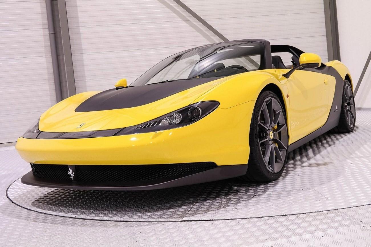 El nuevo Ferrari Sergio, una joya de 5 millones de dólares.