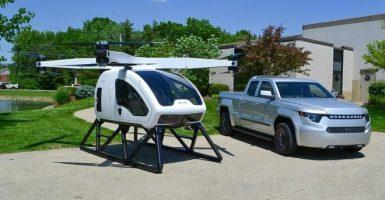 Este podría ser su helicóptero personal dentro de poco