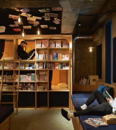 Los hoteles más inusuales y raros - Book & Bed Tokyo