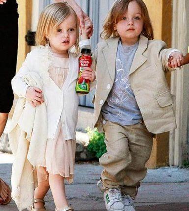 Los millonarios más jóvenes del mundo - Knox y Vivienne Pitt- Jolie