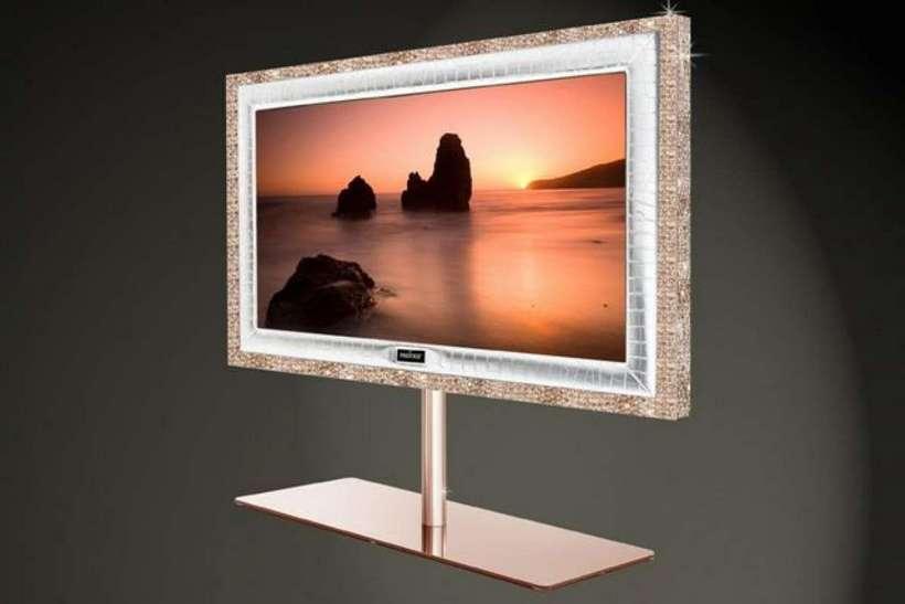 Los televisores más caros del mundo - Stuart Hughes Prestige HD Supreme Rose Edition