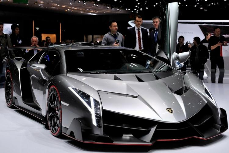 El único y especial Lamborghini Veneno