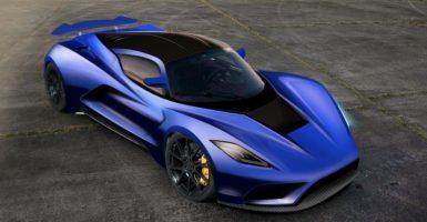 El Venom F5- el auto más veloz del mundo