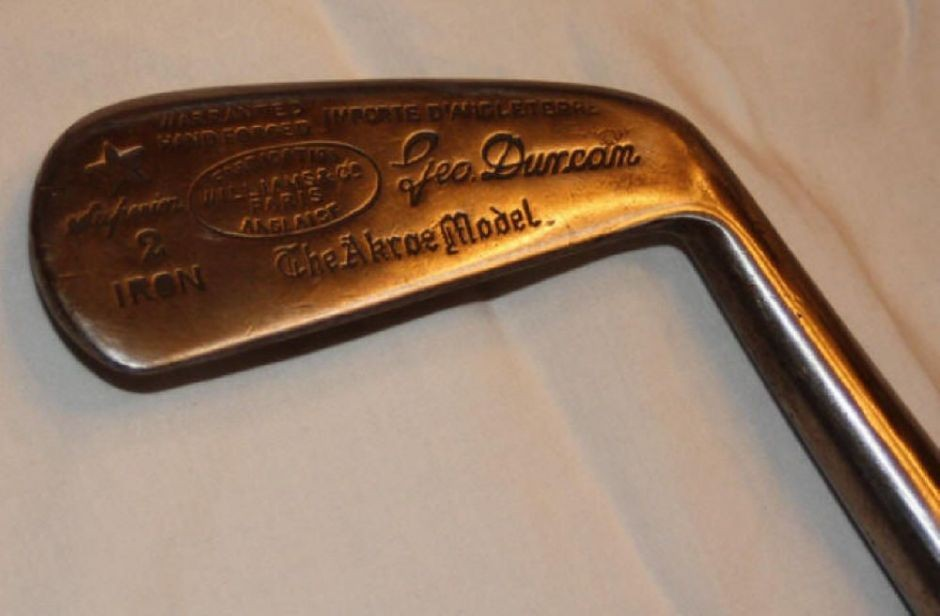Los palos de golf más caros del mundo - Simon Cossar Fruitwood Metal Headed Blade Putter