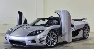 Autos deportivos más caros del mundo - Koenigsegg CCXR Trevita